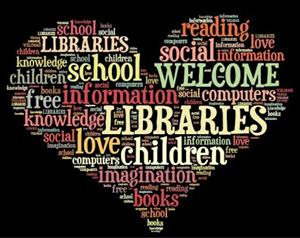 Library word art