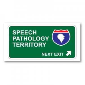 speech pathology sign