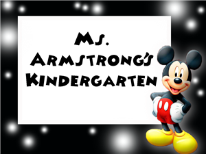 Mickey Name Frame