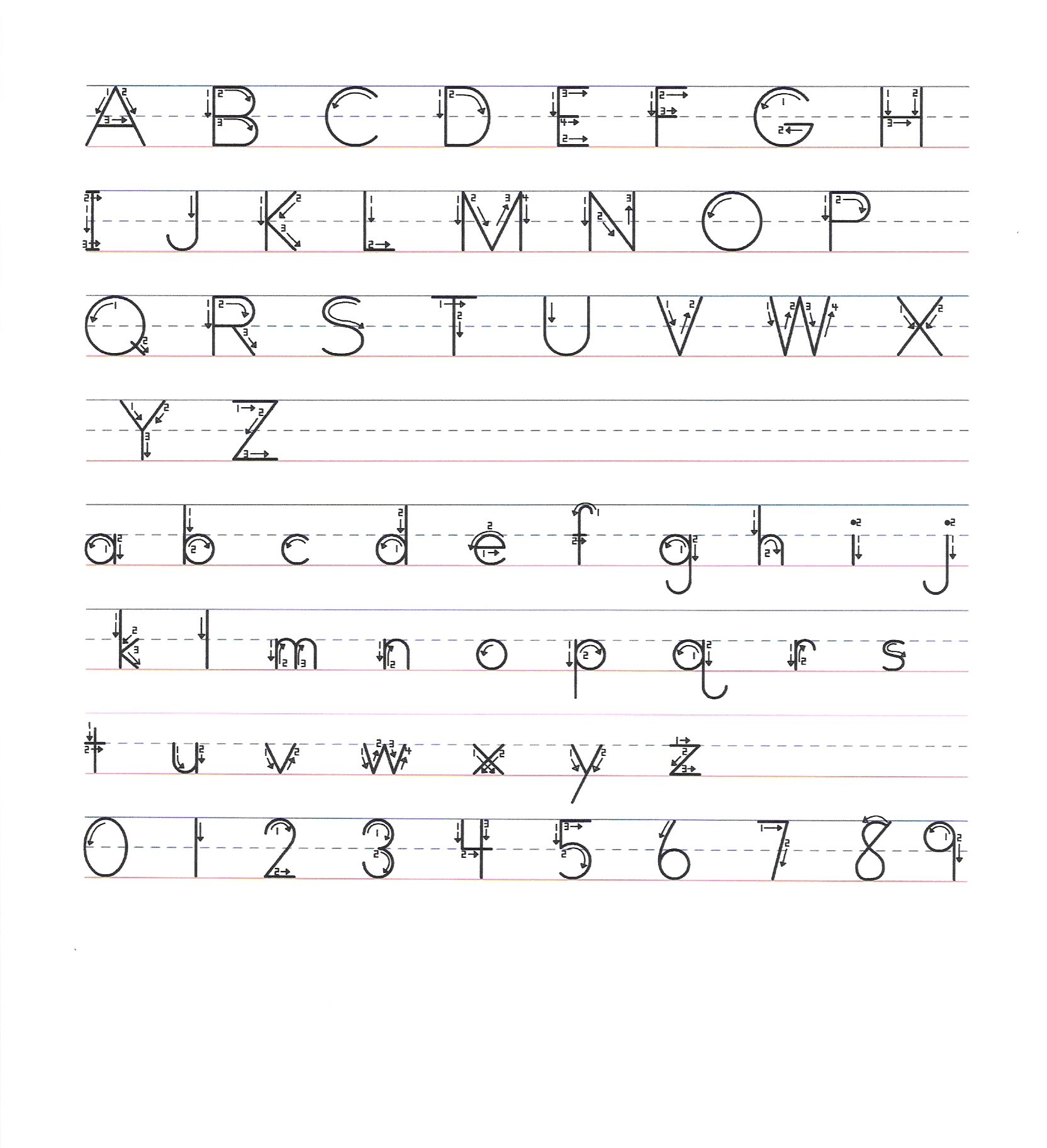 Mrs Woodard Language Arts – Handwriting Worksheet Maker