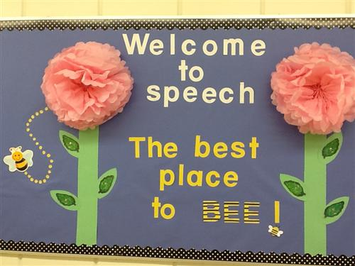 Welcome to speech the best place to bee