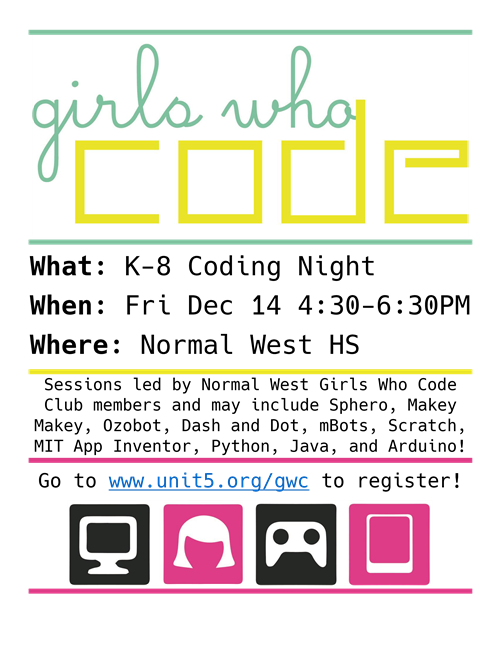 girls who code flier