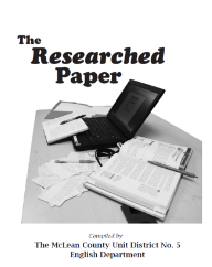 The Researched Paper