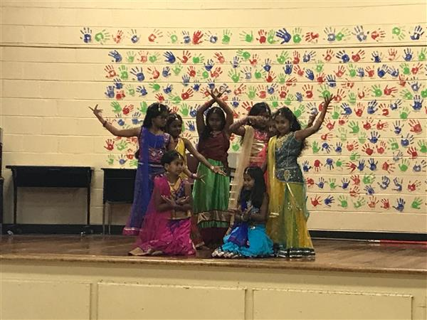 Diwali celebration at Glenn