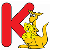 K with Kangaroo